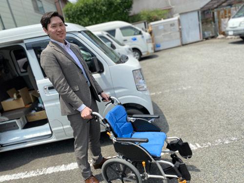 車いすやベッドなど、沢山の福祉用具の中から最適なものをお選びします。